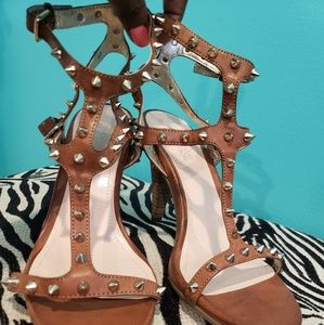 Kenneth Cole studded heels